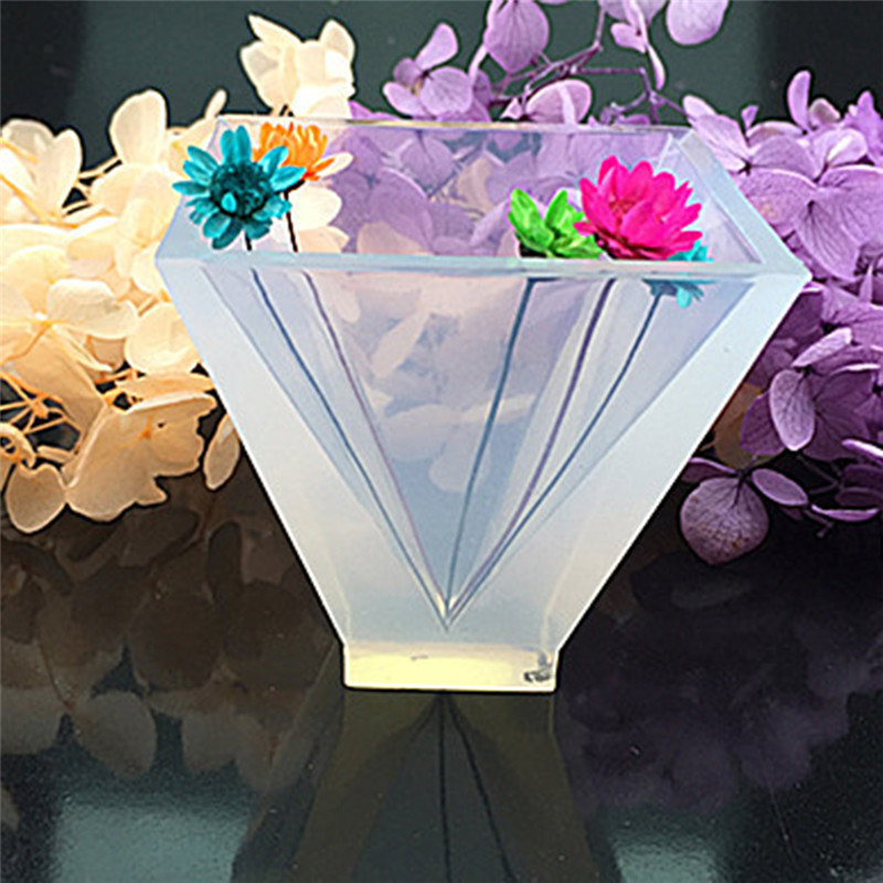 Transparent Pyramid Silicone Mould Resin Molds For Jewelry DIY Resin Decorative Craft Jewelry Making Mold