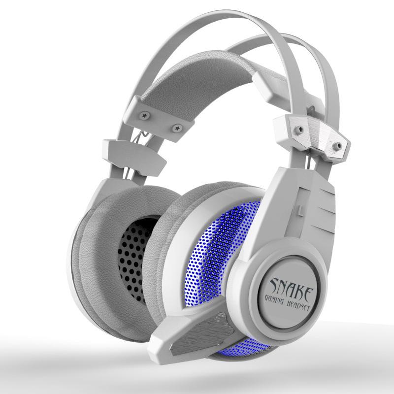New Hi-q Usb 7.1 Surround Sound Usb Stereo Gaming Headphones Over Ear Noise Isolating Breathing Led Lights Headset For Pc Gamer each g8200 gaming headphone 7 1 surround usb vibration game headset headband earphone with mic led light for fone pc gamer ps4