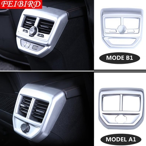Image 2 - Armrest Box Rear Air Conditioning AC Vent Outlet Molding Cover Kit Trim 1 Piece Accessories For Peugeot 3008 3008GT 2017 2018