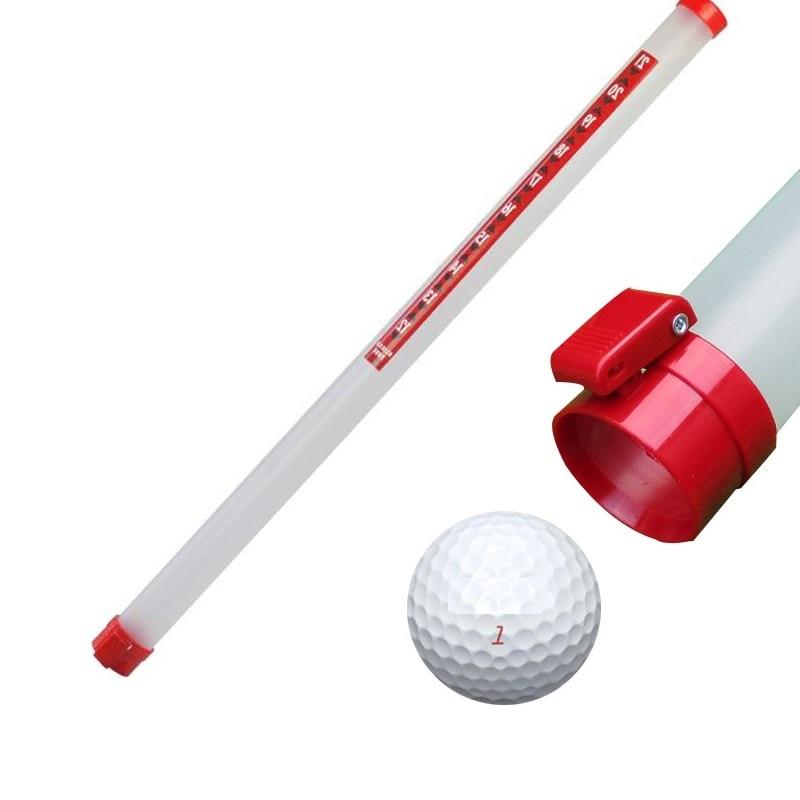 Golf Ball Pick Up Tool Ball Retriever Golf Green Accessories Hold 21pieces Golf Ball 5pcs/Lot