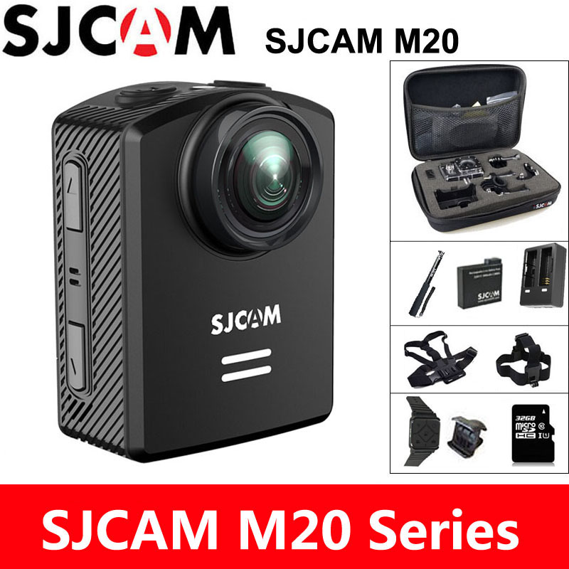 цена на SJCAM M20 Action Camera 4K Sports DV Wifi Gyro Mini Camcorder 2160P HD 16MP 30m Underwater Waterproof Original SJ Sport Cam