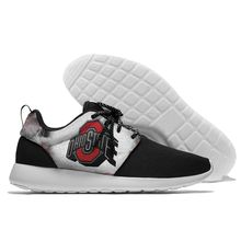 Mens e mulheres Sapatilha Leve Ohio State Football impresso Andando  Conforto Fresco Sports Running Shoes 6560a70429d3d