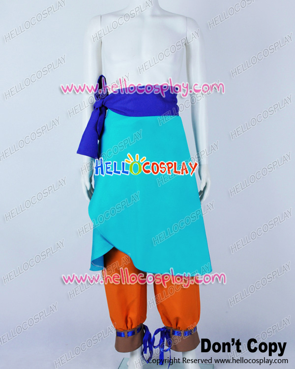 One Piece Cosplay God Of Skypiea Eneru Costume H008
