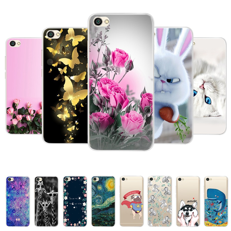 """US $0.79 25% OFF For Xiaomi Redmi Note 5A Case Cover Redmi Note 5A Case Soft TPU Cartoon Phone Back Case For Coque Xiaomi Redmi Note 5A 16GB 5.5""""-in Fitted Cases from Cellphones & Telecommunications on Aliexpress.com   Alibaba Group"""