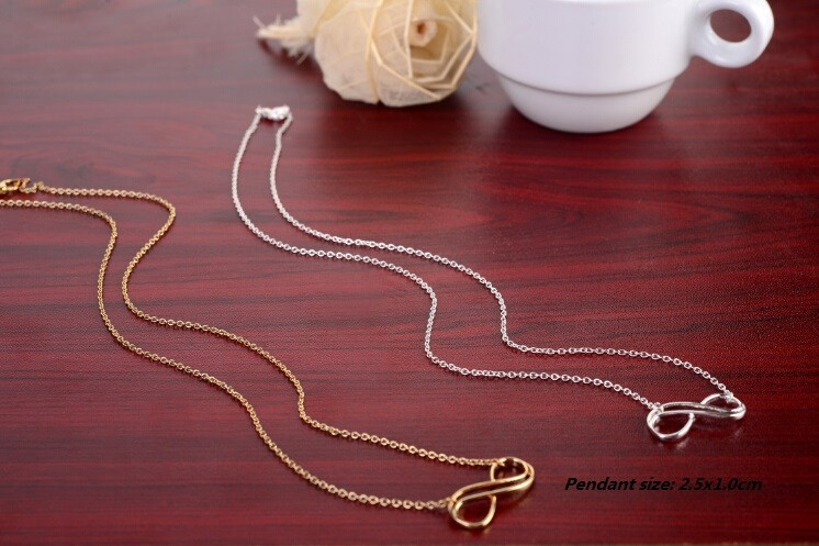 Endless Infinity Pendant Necklace