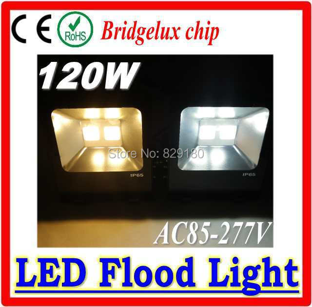 Outdoor LED Flood Light 120W Waterproof IP65 120w High Power LED Floodlight with Bridgelux chip