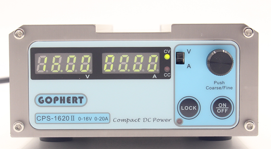 Image 4 - CPS 1620 Mini Digital Adjustable Switching DC Power Supply OVP/OCP/OTP low power 0  16V 0 20A-in Switching Power Supply from Home Improvement
