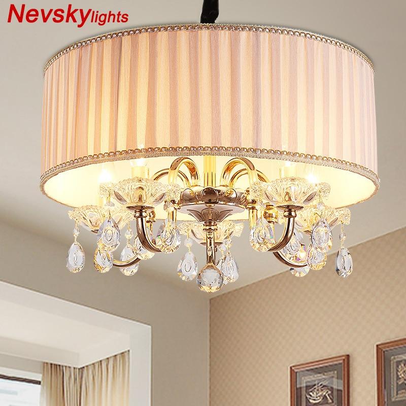 Modern LED Chandelier Decor Home Lighting Fixture Dinner Party Ceiling Lamp lustres de sala de cristal