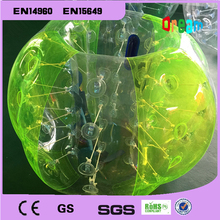 Factory Price!1.0m 0.8mm PVC Best Quality Body Zorb Ball,Bubble Soccer,Inflatable Loopy Ball,Bumper Ball