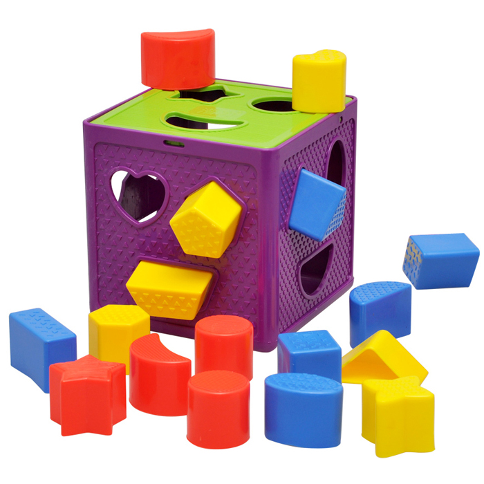 Geometric cognitive box Plastic box matching blocks intelligence baby educational toys for children math brinquedo 2014 new kids 15 holes intelligence box wood geometric blocks baby learning assemblage toys