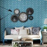 Smartlife A Lot DIY 3D Bricks Wall Sticker Bedroom TV Living Room Background adesivo parede Soft Foam Panels Wallpaper 53*500cm
