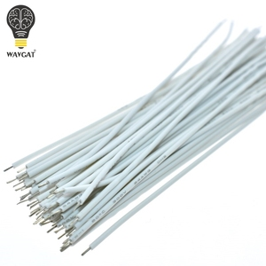 Image 3 - 100PCS Tin Plated Breadboard PCB Solder Cable 24AWG 10CM Fly Jumper Wire Cable Tin Conductor Wires 1007 24AWG Connector Wire