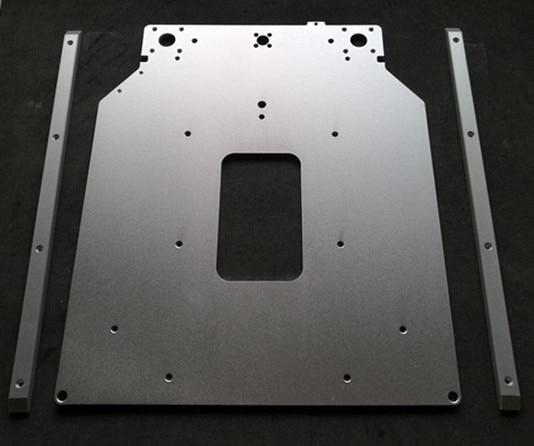 цены SWMAKER UM2 3D printer Ultimaker2 upgrade heatedt bed sheet/plate kit aluminum frame blasting anode color