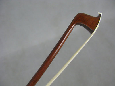 Quality Strong Pernambuco Violin bow 3/4,Copper mounted #4510