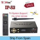 IPS2 DVB-S2 Satellite TV Receiver HD 1080p receptor Support PowerVu Biss Key clines iptv iks batter than Freesat V8 super