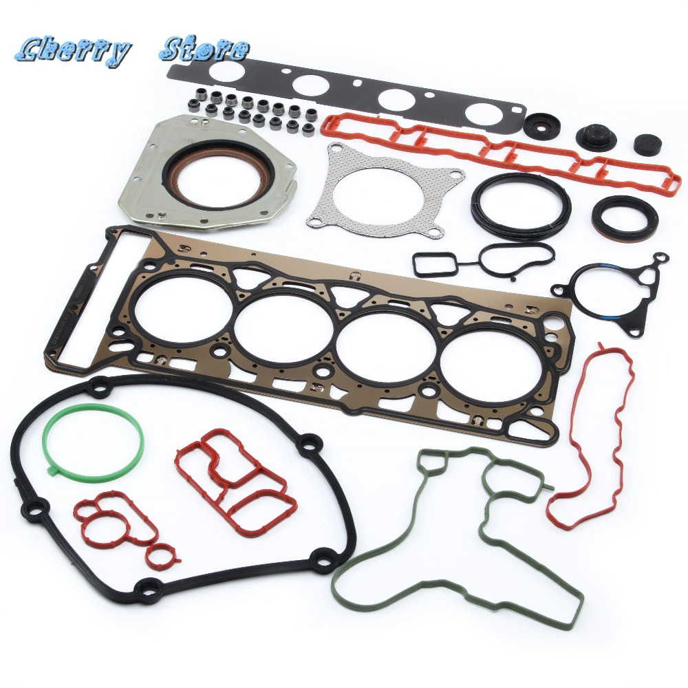 NEW 036 109 675 A Engine Overhaul Rebuild Camshaft Gaskets Seals Repair Kit For VW Golf