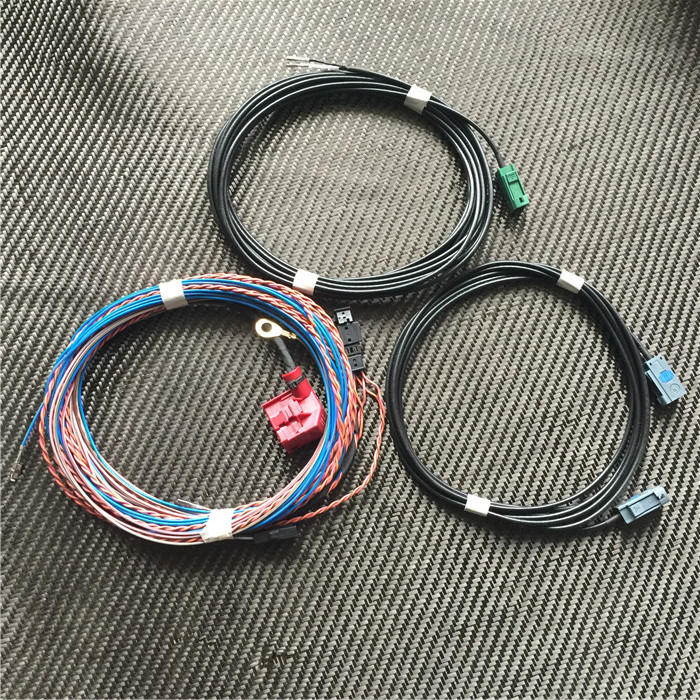 1 Set For Audi A3 S3 A6 Rear view camera image Cable wire