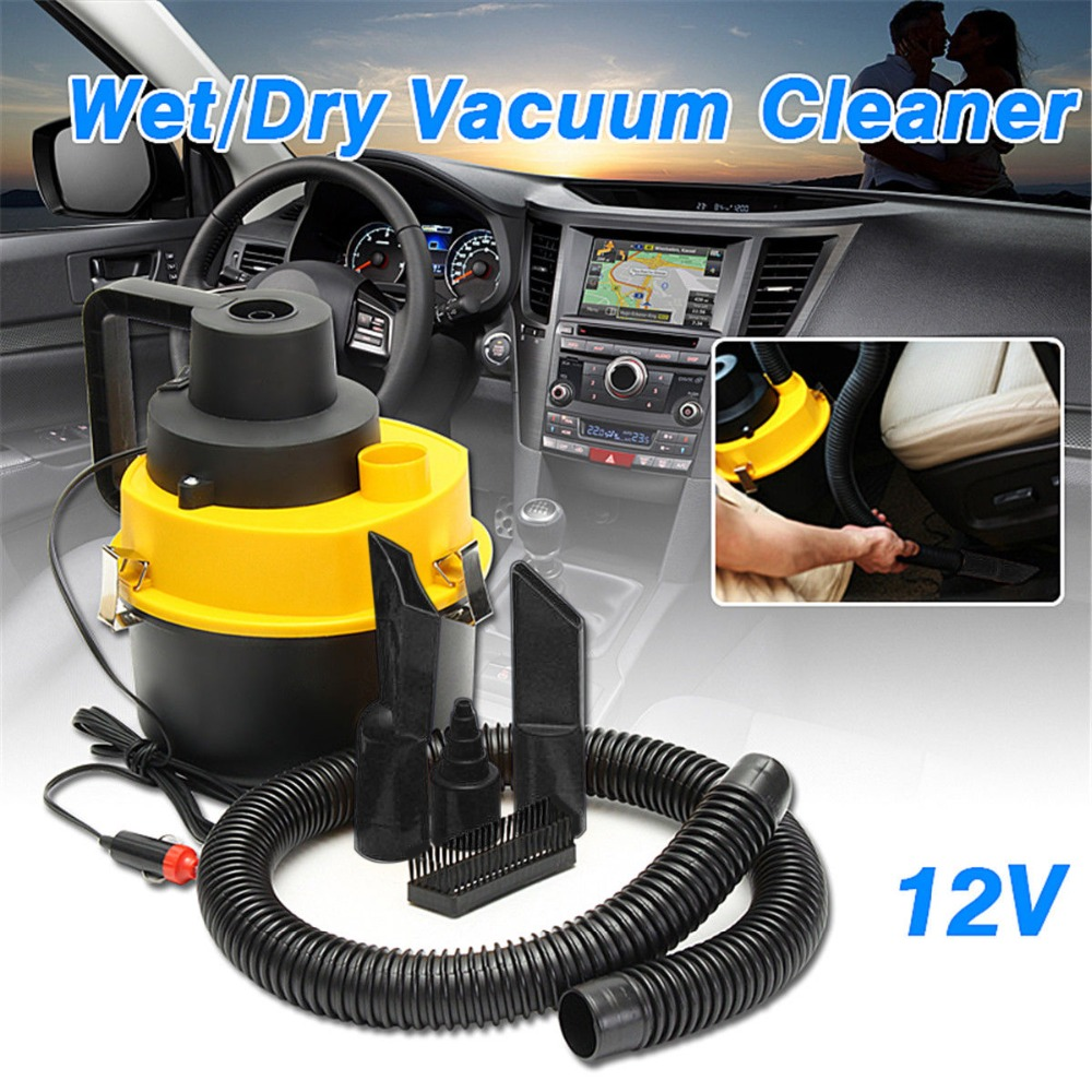 Viecar 12V Car Vacuum Cleaner Portable Car Vacuum Cleaner Wet and Dry Aspirador de dual-use Mini Auto Car Vacuum Cleaner J35C37 ...
