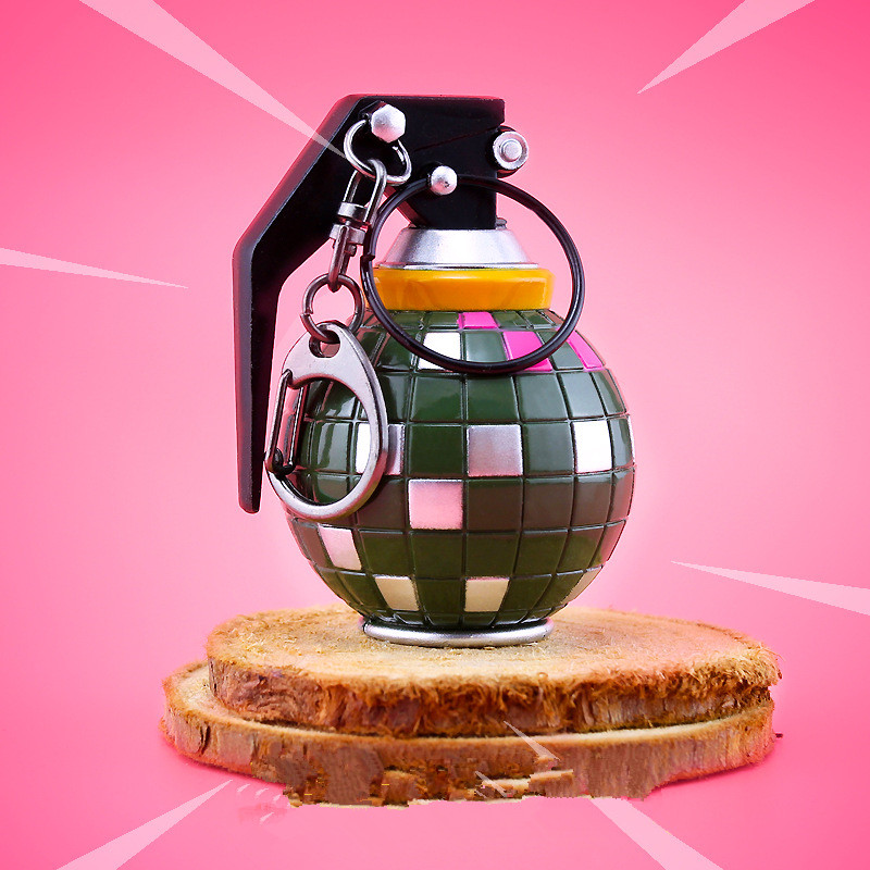 2018 New Hot FPS Game Fortnite Arms Figure Toy Boogie Bomb Keyring Keychain for Fortnite Fans Jewelry, Dropshipping!