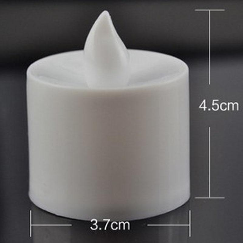6 հատ մարտկոցով սնվող LED մոմի - Տնային դեկոր - Լուսանկար 3