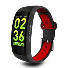AiSDO Fitness Bracelet IP68 Waterproof Dynamic Heart Rate Blood Pressure Monitoring Fitness Tracker Smart Bracelet for Men Women