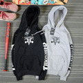 Fashion Harajuku style skateboard Trasher shark hoodie couple sweat assc cdg play brand clothing Plus velvet cotton skt