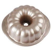 Moule à gâteau Bundt en acier au carbone MyLifeUNIT poêle à Bundt antiadhésive de 10 pouces avec poignées pour la cuisson au four