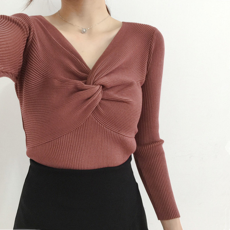 2018 summer muti christmas sweater women long sleeve o neck sweater pullover female casual knitwear jumper