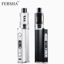 FERSHA electronic cigarette 80W LED display Vape mod kit box 2200 MAH battery 2ml oil storage atomizer Power adjustable