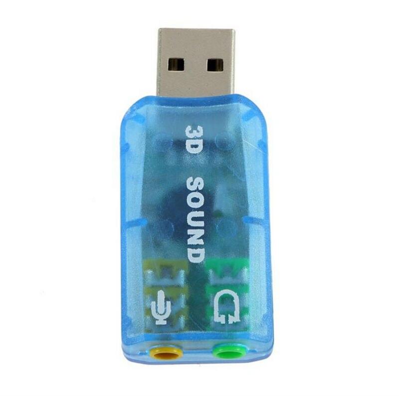 External sound card High Quality USB 2.0 Mic Speaker Audio mircophone Converter Sound Card Adapter External sound card headset
