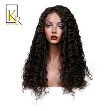 Lace Front Human Hair Wigs For Black Women Remy Brazilian Deep Wave Wig Bleached Knots Plucked With Baby Hair King Rosa Queen