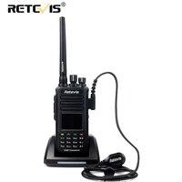 Retevis RT8 GPS Positioning Two Way Radio High Quality DMR IP67 Waterproof Dustproof Shatterproof Walkie Talkie Digital Radio
