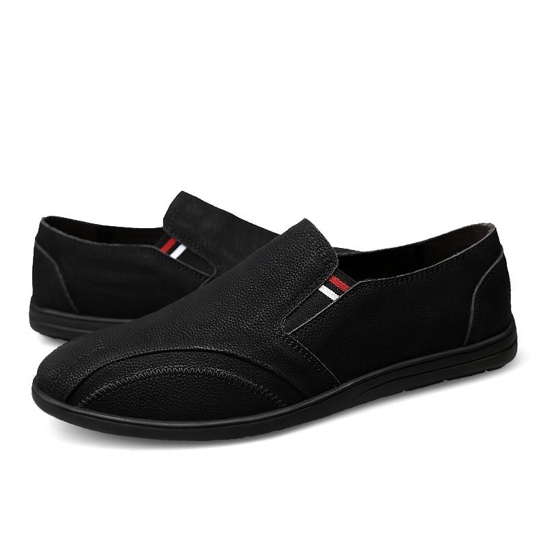 2018 nouveau style casual chaussures mocassins respirant jeunesse - Chaussures pour hommes - Photo 6