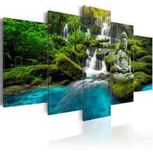 Canvas wall art pictures home decoration living room 5 pieces