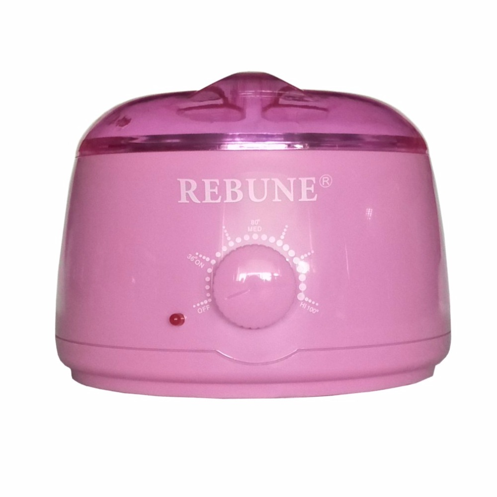 REBUNE Wax Warmer 110V/220V 500ml Pro Hair Remover Machine Paraffin SPA Beauty Wax Heater Hotter Pot Mini Hair Removal Care Tool