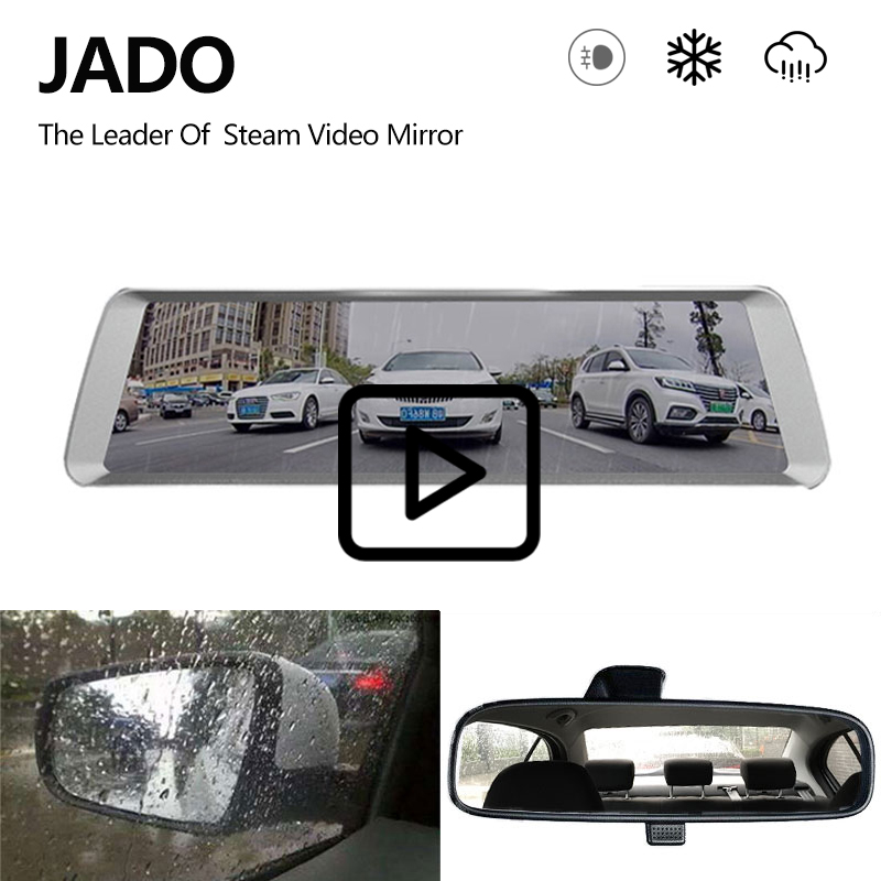 JADO D820 Car Dvr Stream Rearview Mirror Camera autoregistrator 10 IPS Touch Screen Full HD 1080P Car Recorder dashcam dash cam plusobd car recorder rearview mirror camera hd dvr for bmw x1 e90 e91 e87 e84 car black box 1080p with g sensor loop recording