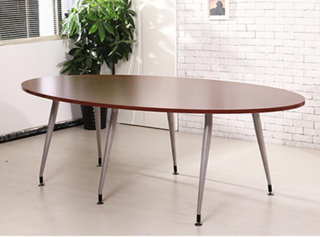 120*60*75 см овальная персонал заседании стол переговоров Приём стол ноутбук, настольный компьютер с Питание отверстия ...