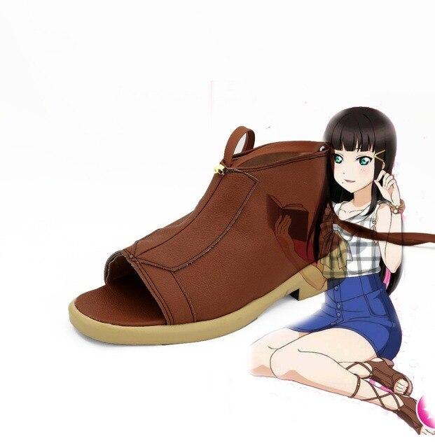 Lovelive!Sunshine!! Kurosawa Dia Cosplay Shoes Boots Custom Made