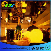 4pcs*Dia40cm Dia30cm Dia20cm led Glowing stage sphere ball lamp/ hotel decoration light