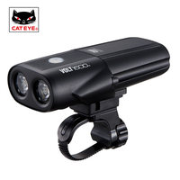 CATEYE Bicycle USB Rechargeable Light MTB Bike Front Lights LED Flashlight Lamp Waterproof Built in Battery Bicycle Accessories