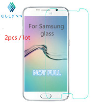 2PC/Lot Ffor Samsung Galaxy S7 S6 S5 Note 5 A3 A5 2017 A7 2017 Screen Protector 2.5D Film For Samsung A5 2016 A7 Tempered Glass