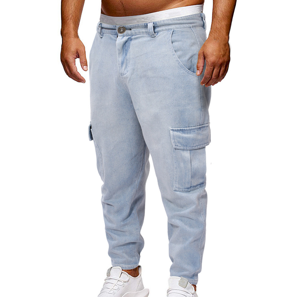 Redelijk Jeans 2019 Nieuwste Arrivals Fashion Hot Mannen Lange Rechte Been Loosecasual Pocket Strech Denim Broek Skinny Jeans Clubwear