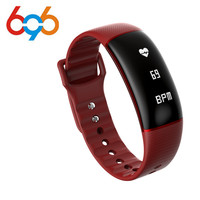 696 Smart band A69 Smart bracelet heart rate blood pressure watches pedometer fitness tracker Smart Wristband pk fit bit