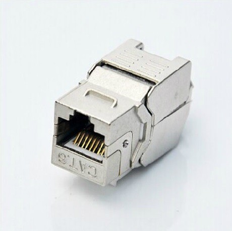 <font><b>RJ45</b></font> <font><b>Jack</b></font> Module CAT6 250MHz AWG23-26 Snap-in <font><b>Jacks</b></font> image