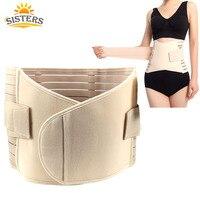 Postpartum weight loss body wrap Maternity Waist Belt Wrap waistband Firming Waist Trimmer Body Wrap Belt Slimming Tummy girdles