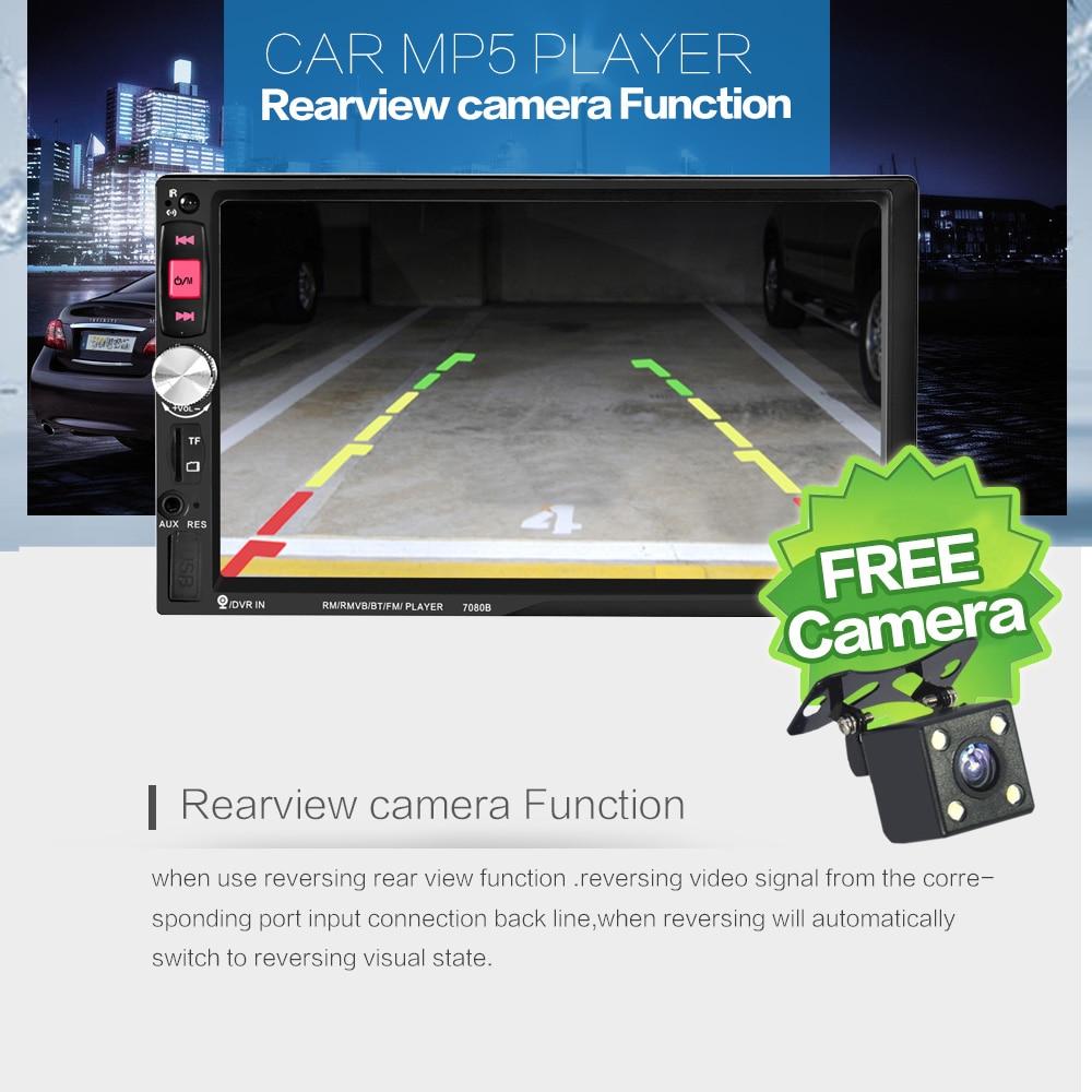 ЖАҢА 7inch HD TFT экранды автокөлік радио - Автомобиль электроникасы - фото 3