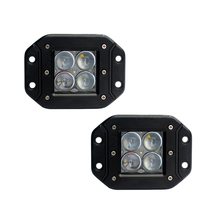 цены на ECAHAYAKU 2pcs 4inch 20W Led Work Light 12V 24V Driving fog Lamp 4D Lens Offroad Led Light Bar 6500k White Car Off Road 4x4 4WD в интернет-магазинах