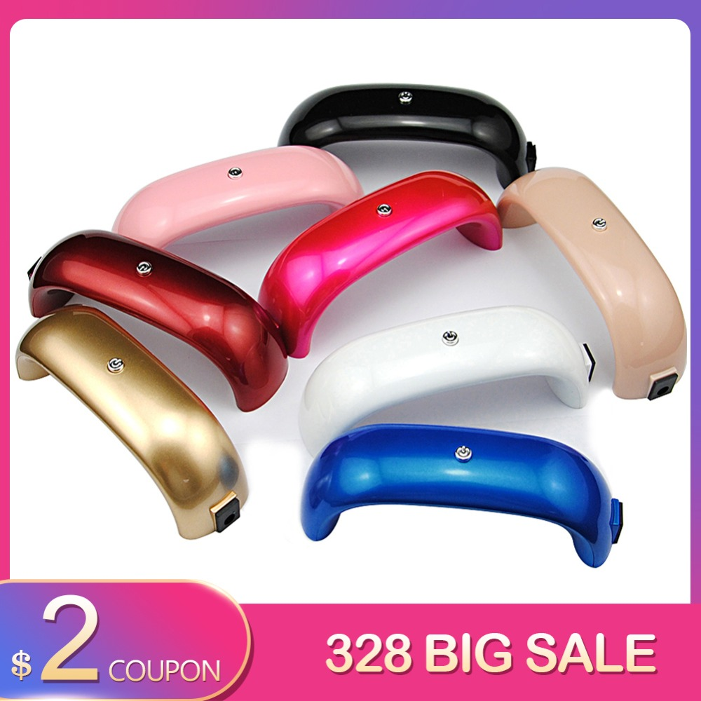 9w Mini Led Lamp Nail Dryer Curing Lamp Portable Usb Cable For Prime