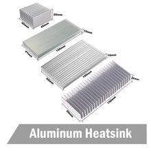 3 шт./партия 150x60x25 мм алюминиевый радиатор охлаждения радиатора теплоотвода 150 мм x 60 мм x 25 мм