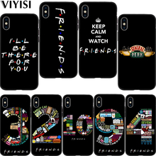 Etui For iPhone xr case Central Perk Coffee friends tv Park 7 X XS MAX 8 6 6S Plus 5 5s SE Coque Black silicone Cover
